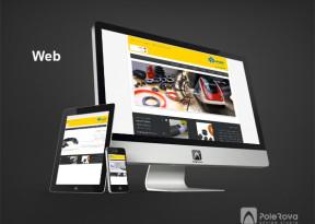 طراحی وب سایت - دقیق پلیمر تهران