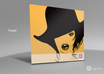 پوستر , طراحی پوستر , طراحی , نمونه پوستر , نمونه طراحی پوستر , گرافیک , poster , graphic design خانه مد سریره